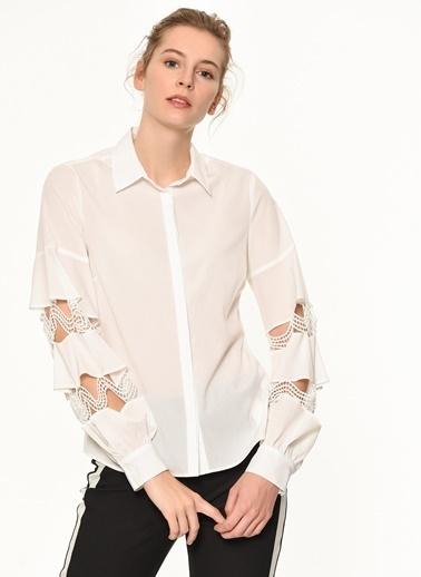 Random Gömlek Beyaz